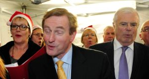 Taoiseach unable to shed any light on what he did a few weeks ago.  Photograph: Aidan Crawley