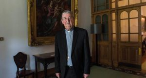 Archbishop of Dublin Diarmuid Martin will be 10 years in that role on Saturday next. Photograph: Brenda Fitzsimons / The Irish Times