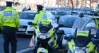 Alcohol testing checkpoints were set up between 12.30am and 1.30am at various locations around the country, aiming to intercept intoxicated drivers. Photograph: Cyril Byrne/The Irish Times