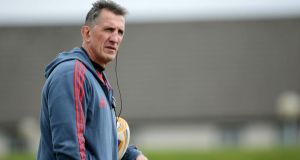 "Munster coach Rob Penney: ""Some individuals are going to have to go beyond where they have been before but that is the challenge for us as a management group."" Photo: Morgan Treacy/Inpho"
