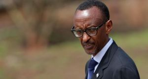 Rwanda president Paul Kagame: Bóthar hopes he will officially open creamery. Photograph: Chip Somodevilla/Getty Images