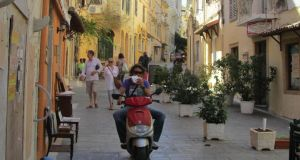 Corfu town: a cosmopolitan city when Athens was still a village.