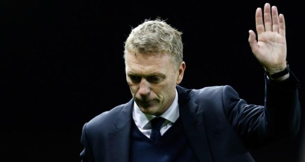 David Moyes who was sacked as Manchester United manager this morning. Photograph: Getty