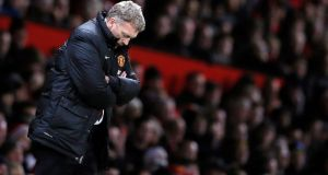 David Moyes today paid the price for a woeful first season in charge of Manchester United as he was sacked as manager. Photograph: Phil Noble/Files/Reuters
