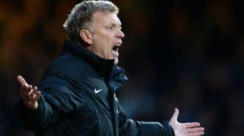 Manchester United manager David Moyes' time at the helm brought a list of unwanted records broken as embarrassing as it is long. Photograph: Anthony Devlin/PA Wire