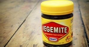 Vegemite, made from leftover brewer's yeast, is part of the national diet