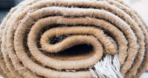 Carpets can harbour huge amounts of dust. Photograph: Thinkstock