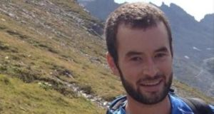 Eoin Deasy (25), a secondary school teacher from Cork, died when he fell while hiking along the Fürstensteig route in the Alpine Rätikon mountain range last Thursday. Photograph: RIP.ie