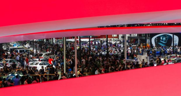Beijing Auto Show Car Firms Pin Hopes On China - Car show carpet