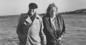 Beloved: Maeve Binchy with her husband, Gordon Snell, in 1991. Photograph: Ian Cook/Time Life Pictures/Getty Images