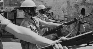 The British army in Aden, 8th March 1967. (Photo by Terry Fincher/Express/Hulton Archive/Getty Images)