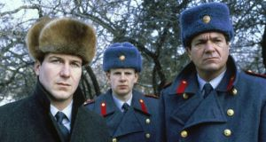 William Hurt (left) as Arkady Renko in 'Gorky Park', Michael Apted's film adaptation from 1983; the Moscow policeman returns in Martin Cruz Smith's new novel, 'Tatiana'
