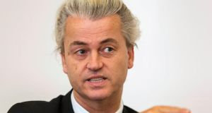 Freedom Party (PVV) leader Geert Wilders speaks during an interview in The Hague on April 17th. REUTERS/Michael Kooren