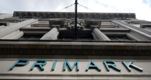 A Primark store in central London. Along with its Boston plans, the cut-price retailer is said to be in negotiations on another eight stores in the US northeast. Photograph: Andy Rain/EPA