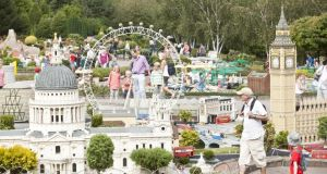 The Miniland exhibition in Legoland Windsor