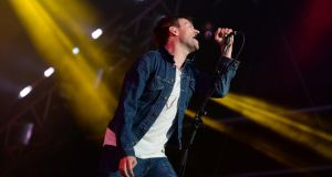 01/08/2013 NEWSDamon Albarn  of BLUR  performaning at IMMA last evening..Photograph: Cyril Byrne / THE IRISH TIMES