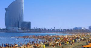 Hit the beach at Barceloneta as well as the bars and clubs in the city on a post-Leaving-Cert holiday