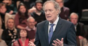 Vincent Browne. Photograph: Brian McEvoy