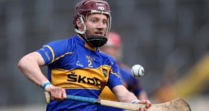"Tipperary defender Paddy Stapleton: ""I think I might be ready for training next week, hopefully."" Photograph: Inpho"