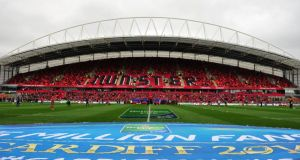Thomond Park in Limerick: the spiritual home of Munster rugby. Photo: Barry Cronin /AFP/Getty