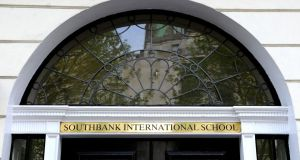 The Southbank International School in Portland Place, London, where convicted paedophile William Vahey taught. Photograph: Ian West/PA Wire