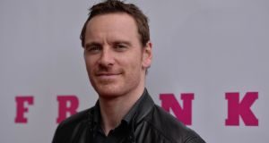 Michael Fassbender at the Irish film premiere of Frank at Lighthouse in Smithfield, Dublin. Photograph: Niall Carson/PA Wire