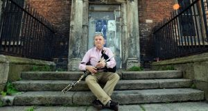 Gay McKeon, the chief executive of Na Píobairí Uilleann, near the organisation's headquarters on Dublin's Henrietta Street. Photograph: Dave Meehan