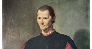 Machiavelli: saved from the rack and allowed to retire to a farm near Florence, where he wrote his great book