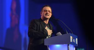 'Alas, neither Bono nor Brendan O'Carroll has made the top 100.' Photograph: Alan Betson