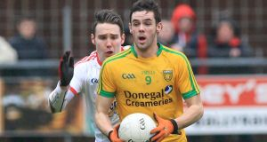 Odhran MacNiallais has been the one stand-out discovery of Donegal's league campaign. photograph: Donna McBride/Inpho