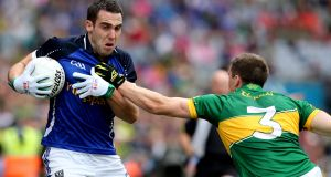 Cavan's Eugene Keating has fully recovered from injury. Photograph: James Crombie/Inpho