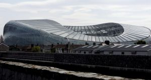 The FAI hope Dublin's  Aviva Stadium will host four games in Euro 2020.   Photograph: Alan Betson / THE IRISH TIMES
