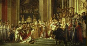 Jacques-Louis David's painting  'The Consecration of Napoleon'. Photograph: RMN/Arnaudet-Blot