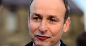 "Fianna Fáil leader Michéal Martin said: ""No . . . I don't want to comment too much on the article; it is an interesting article''"