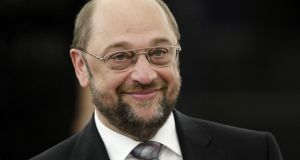 Martin Schulz of Germany is the chosen candidate of the Socialist and Democratic  group, the umbrella group for centre-left political parties in the European Parliament. Photograph: Reuters