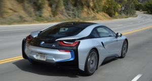 BMW i8 Hybrid sports car: Aiming to match performance of a Porsche with the fuel efficiency of a Prius