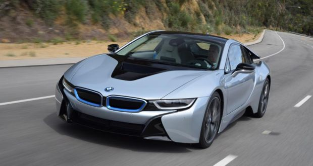 Bmw I8 Hybrid Sports Car Aiming To Match Performance Of A Porsche With The Fuel