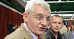 Socialist Party TD Joe Higgins has said he will not contest the next general election. Photograph: Alan Betson
