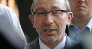 Gennady Kernes: shot in the back by an unidentified gunman. Photograph: Reuters