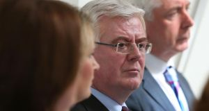 Divisions within the Labour Party over Tánaiste Eamon Gilmore's leadership have emerged after substitute MEP Phil Prendergast called for his resignation. Photograph: Joe O'Shaughnessy