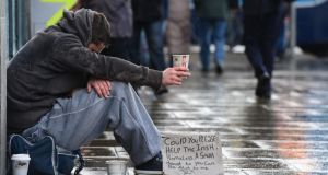 'The economic crisis, along with the decline in affordable housing for vulnerable people and those on low incomes, has coincided with rising demand for homeless services.' Photograph: Alan Betson