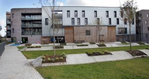 The new F2 Neighbourhood Centre in Fatima/Herberton,  the former Fatima Mansions in Dublin. Photograph: Matt Kavanagh
