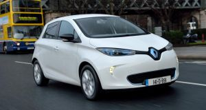 The Zoe is the fourth electric vehicle in Renault's range
