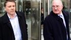 Two former directors of Anglo Irish Bank have been given the probation act for providing unlawful financial assistance to 10 businessmen in July 2008.