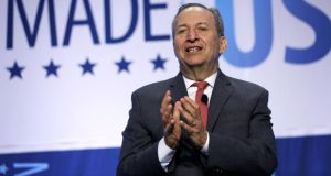 Former US treasury secretary Lawrence Summers has argued that the high-income economies seem to be worryingly unable to generate good growth in demand without extreme credit instability. Photograph: Alex Wong/Getty Images
