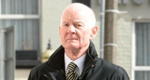 Former financial regulator Patrick Neary: giving evidence  during the trial he veered from forgetfulness to farce. Photograph: Dara Mac Dónaill