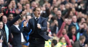 Ajax Amsterdam coach Frank de Boer has expressed an interest in the Tottenham position.