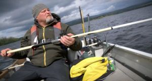 Eoin O'Hagan on Lough Derg