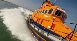 A trip around Dublin Bay in a lifeboat