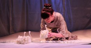 Theatre for the very young: 'White Blossoms' by Graffiti Theatre